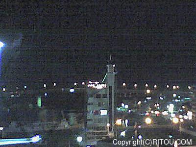 2012年11月19日 午後6時時半すぎの泊港ライブカメラ画像