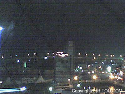 2012年11月23日 午後6時時半すぎの泊港ライブカメラ画像