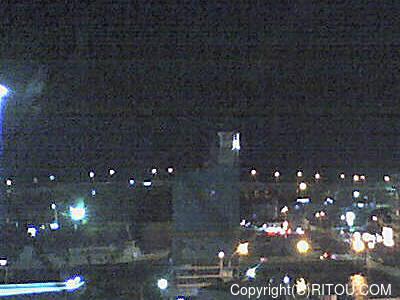 2012年11月29日 午後6時時半すぎの泊港ライブカメラ画像