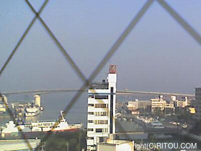 2014年5月3日 午前7時すぎの泊港ライブカメラ画像