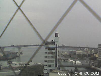 2014年5月22日 午前7時すぎの泊港ライブカメラ画像