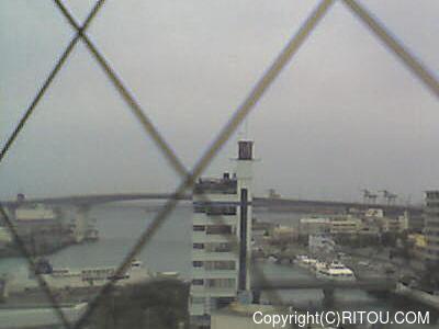 2015年3月27日 午前7時すぎの泊港ライブカメラ画像