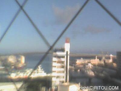 2020年07月11日 午前7時すぎの泊港ライブカメラ画像