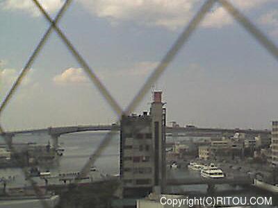 2012年11月8日 午後1時すぎの泊港ライブカメラ画像