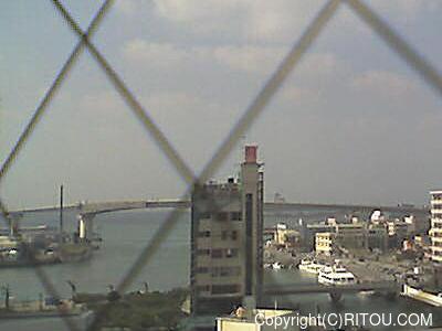 2012年11月14日 午後1時すぎの泊港ライブカメラ画像