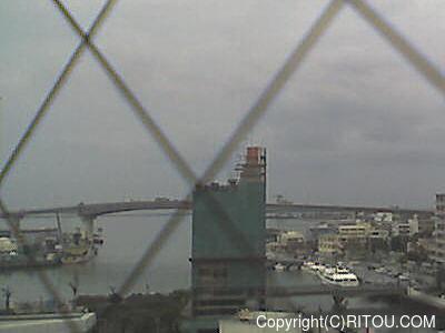 2012年11月30日 午後1時すぎの泊港ライブカメラ画像