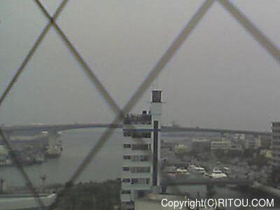 2014年5月1日 午後1時すぎの泊港ライブカメラ画像