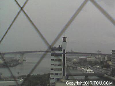 2014年5月23日 午後1時すぎの泊港ライブカメラ画像