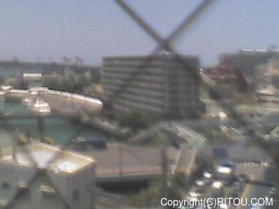 2018年05月25日 午後1時すぎの泊港ライブカメラ画像