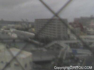 2018年08月16日 午後1時すぎの泊港ライブカメラ画像