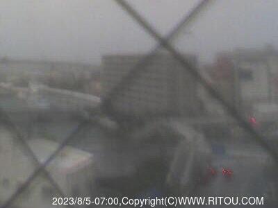 2020年3月31日 午前7時すぎの国道58号線ライブカメラ画像