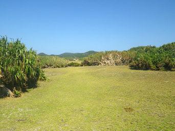 安慶名敷島の安慶名敷島の南側