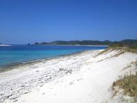安慶名敷南のビーチ