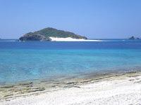 安慶名敷島の安慶名敷南のビーチ - 嘉比島が目の前に望めます