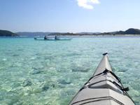嘉比島沖の海の色