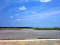 粟国島の粟国空港 - はたして航空便の復活は何時になるか