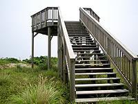 粟国島の大正池公園展望台
