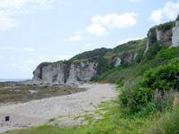 粟国島の西ヤマトゥガー/ヤビジャ海岸 - 筆ん崎下の海です
