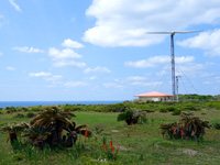 筆ん崎風車/可倒式風力発電