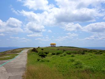 粟国島の筆ん崎