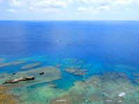 粟国島の筆ん崎 - ダイビングに人気の筆ん崎ポイント