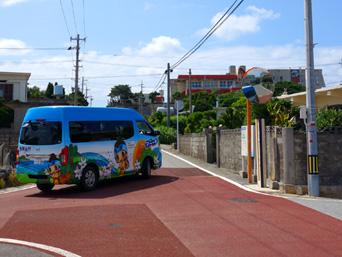 粟国島のあぐにコミュニティーバス/アニー号/りかりか号「粟国島のゆるキャラ「アニーちゃん」の痛車」