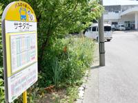 粟国島のあぐにコミュニティーバス/アニー号/りかりか号 - バス停は意外にもしっかしている