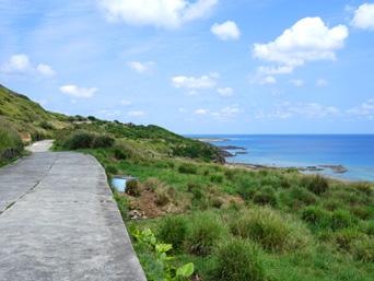 粟国島のナビィの道