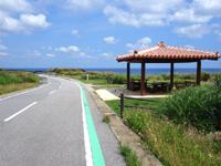 粟国島のナビィの道の写真