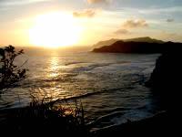 阿嘉島の天城展望台 - 夕日の名所でもあります