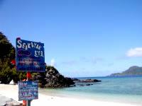 阿嘉島のヒズシビーチの写真