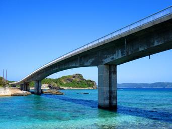 慶留間島の慶留間橋/慶留間大橋