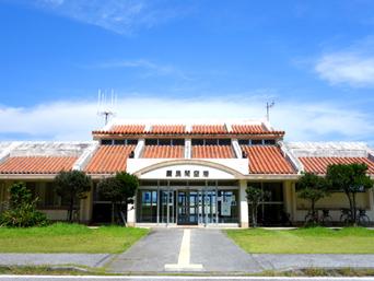 外地島のケラマ空港/慶良間空港
