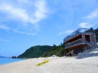 阿嘉島のニシ浜/北浜 - ニシバマテラスができて利便性は上がったが・・・