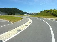 阿嘉島の阿嘉ビーチ - 阿嘉港とビーチを結ぶ道が出来ました!