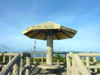 外地島の外地展望台 - キノコのような展望台