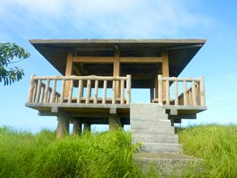 阿嘉島の中岳展望台「阿嘉島最高峰の展望台」