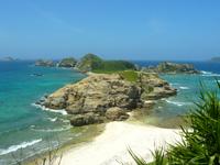 阿嘉島の砂白島