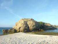 阿嘉島の砂白島の写真
