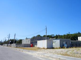阿嘉島の阿嘉園地休憩所/臨海研究所施設