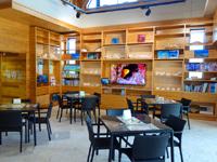 阿嘉島のさんごゆんたく館/慶良間諸島国立公園ビジターセンター - カフェ的なスペースあり(カフェサービスもあり)