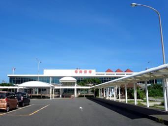 奄美大島の奄美空港「2017年は南側が改修工事中だった」