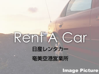 奄美大島の日産レンタカー 奄美空港営業所「話題の日産新型車を取りそろえております」