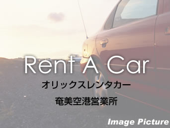 奄美大島のオリックスレンタカー奄美空港前店(旧エックスレンタカー)