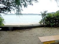 奄美大島の嘉鉄海岸