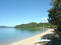 奄美大島の清水海岸