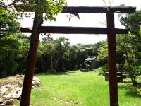奄美大島の湯湾岳頂上/展望台 - 手作り感漂う展望台