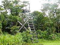 奄美大島の湯湾岳頂上/展望台 - さすがに奄美一の高さからの眺望