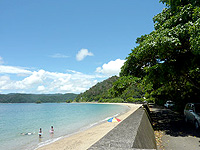 奄美大島の白浜海岸