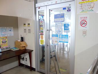 奄美大島のシーフードレストラン海の駅「2階にあるレストラン」